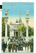 ESPOSIZIONE DI TORINO 1911 Salone dei Concerti - fotocromo