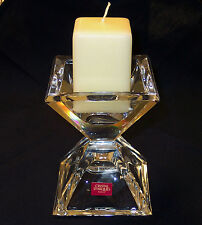 Candle Holder, Cristal D'Arques Pyramid, lead crystal, contemporary, new