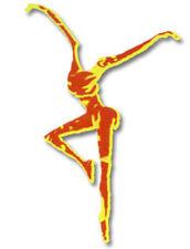 DAVE MATTHEWS BAND Red Fire Dancer Logo Window Sticker New not cd lp Logo