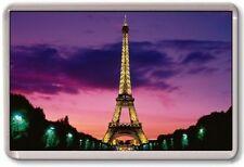 FRIDGE MAGNET - EIFFEL TOWER - Large Jumbo (Purple) France Paris