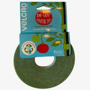 Velcro Green PLANT TIES 50 ft Cut to Length Garden Trellis Secures Support Tape!