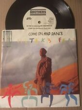 "HI TEK 3 Feat. MC SHAMROCK - 7"" 45rpm - COME ON AND DANCE - BORG 17"