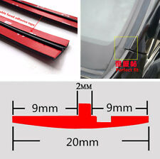 20 mm 30 ft Rubber Car Front Rear Windshield Sunroof Edge Seal Strip Soundproof