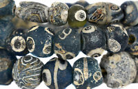 """Ancient Islamic """"Roman Eyes""""  Trade Beads  African COOPER COLLECTION"""