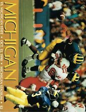Michigan Wolverines Football Program - vs. Michigan State, October 13, 1990