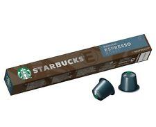Starbucks Espresso Roast by Nespresso (Nespresso compatible 10x pods capsules)