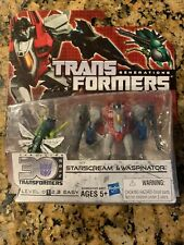 Transformers Generations Legends Class Starscream and Waspinator New Opened