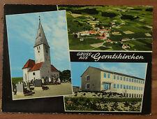 Schöne alte Ansichtskarte AK - Mehrbildkarte Geratskirchen Luftaufnahme
