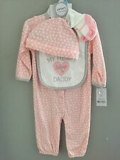 Baby Girl Sleepwear Pajama Set New 6 Months Carter's Layette
