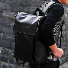 Boy Girl Leather Shoulder School Bag Backpack Travel Satchel Rucksack Handbags