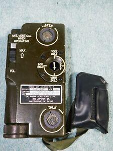 🔥 US MILITARY AIRCRAFT AVIATION SURVIVAL EMERGENCY RADIO SET AN/PRC-90-2 *