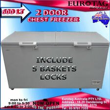 EUROTAG Eu-600 COMMERCIAL GRADE 600LT CHEST FREEZER RRP$1450.00 BRAND NEW SAVE
