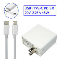 USB Type C PD 3.0 Charger for Apple MacBook Pro 12-inch 13.3inch(2015/2016/2017)