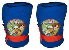 "Lot of 2 -Boys Disney 50""x60"" Toy Story BUZZ WOODY TWINS gift blanket"