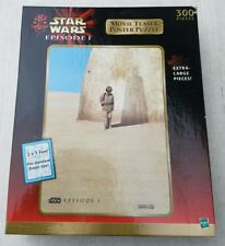 Star Wars Episode I Movie Teaser Poster PUZZLE 300 Piece 2'x3' Hasbro 1999 New