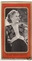 HILDE HILDEBRAND ACTRESS ACTRICE GERMANY DEUTSCHLAND ALLEMAGNE IMAGE CARD 30s