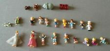 Polly pocket vintage 22 figurines personnages et animaux