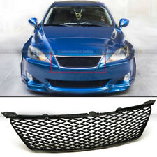 Fit 06 07 08 Is250 Is350 Honeycomb Badgeless Mesh Isf Style Front Hood Grille (Fits: Lexus)