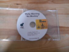 CD Reggae Wally Warning - No Monkey (3 Song) MCD CHET REC - disc only -