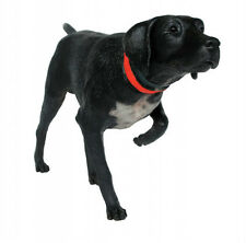More details for german shorthaired pointer dog black resin figure statue breed kennel lifesize