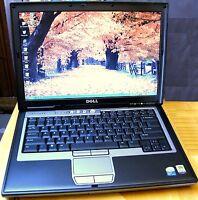 Fast Dell Laptop Computer Intel Dual Core WiFi Dvd Windows XP Latitude 500GB HD