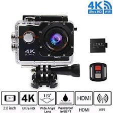 Cámara de acción 4K Ultra HD Deportes Cámara WIFI Casco Mini DV Video paquete de Estuche de transporte