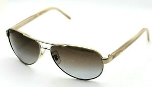Ralph Lauren RA 4004 101/T5 NO LENSES Gold Aviator Sunglasses 59-13 130