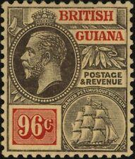 British Guiana George V Era (1910-1936) Stamps