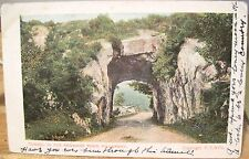 Irish Postcard Tunnel in the Kenmare Road Lakes Killarney Ireland Ff & Co. 1904