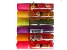 6x Technic Fruity Roll On Lip Gloss (Set of Six )