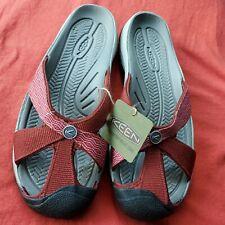 Keen Bali Flip Slides Sandals 11 NWT Firebrick Red