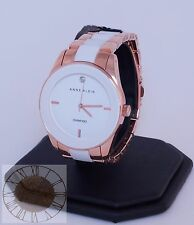 Women's Anne Klein Watch, Rose Gold-Tone and White Ceramic Watch AK-1436WTRG,New