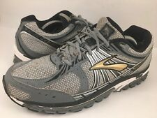 f64999122772 Brooks Beast 12 Men s Sz 12 Silver Black Gold - running shoes grey gray