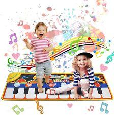 Kinder Spielzeug Piano Matte Keyboard Matte Klaviermatte Tanzmatte 110cmx36cm