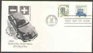 US. 1906. 17c. Electric Auto 1980s. Artmaster FDC