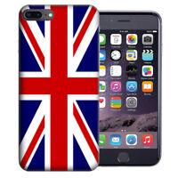 For Apple iPhone 7 Plus 8 Plus England British Flag Design TPU Gel Case Cover