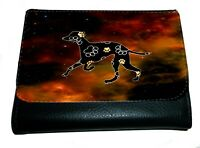 Greyhound Purse Wallet Lurcher Striking Dark Design Purse Xmas Thankyou Gift