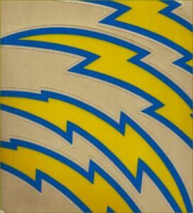 Chargers Football Helmet Decals Free Shipping 2020