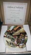 New Collectors Royal Doulton 3rd Old Country Crafts The Spinner Fine Bone Plate