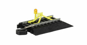 Bachmann 44476 HO Scale E-Z Track Flashing Led Bumper Steel Alloy