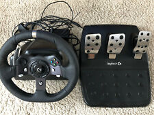 Logitech G920 Racing Wheel for Xbox One and PC with free Sim Rig