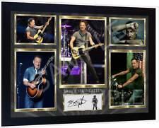 Bruce Springsteen signed autograph Music  print poster Framed
