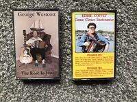 George Westcott & Eddie Coffey Cassettes. VG Condition. See Description & Pics!