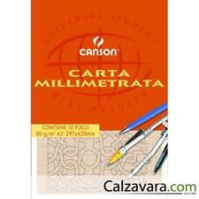 Canson Blocco Carta Velina A4/21/x 29,7/cm 25/Fogli traslucido