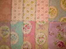 10 fat quarters Rococo & Sweet 2014 from Lecien 100% Cotton Quilt Fabric Roses