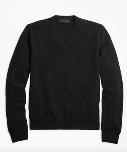 Brooks Brothers CASHMERE COLLECTION V Neck Sweater. M