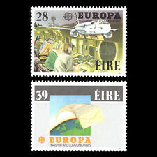 Ireland 1988 - EUROPA Stamps - Transportation and Communications - Sc 717/8 MNH