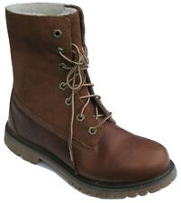 """Womens Ladies Timberland Fleece Lined 6"""" 6 Inch Leather Waterproof Boots Size 4"""