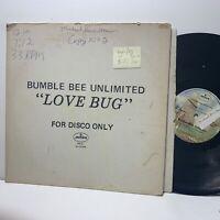Bumble Bee Unlimited- Love Bug- Mercury MK 21 Promo Disco VG+-/VG-