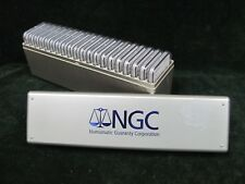 Lot of 20 Morgan Silver Dollars - All NGC MS 62